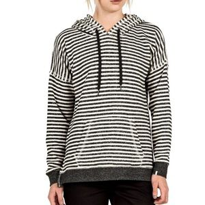 Volcom Striped Lived In Hoodie, XS